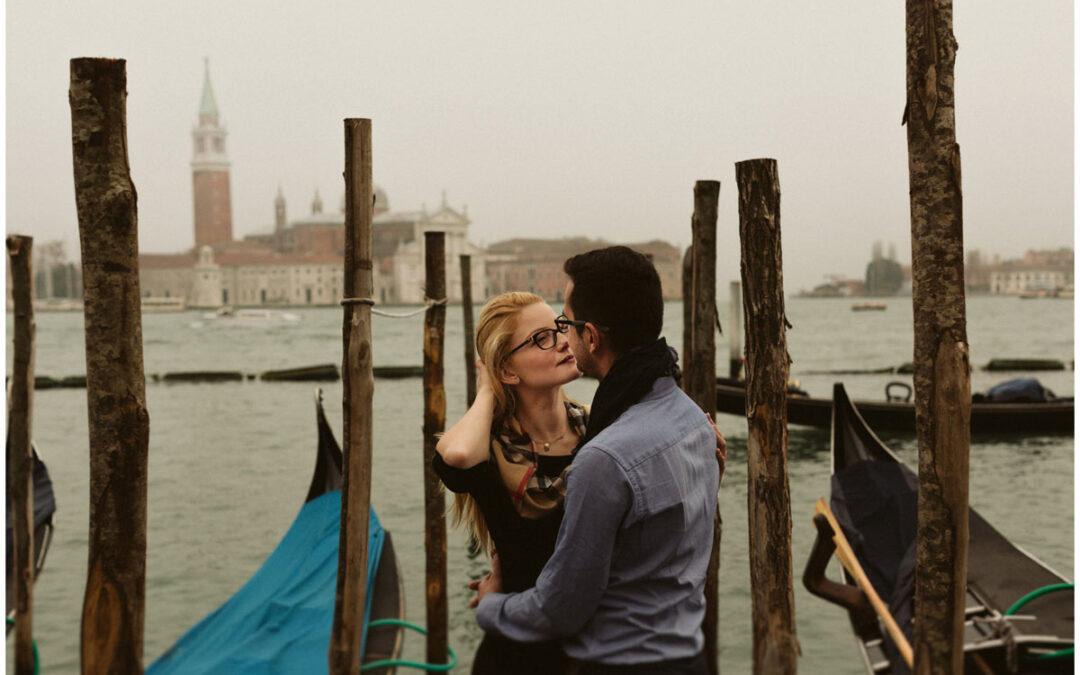 Sesja narzeczeńska w Wenecji – Marta + Konrad
