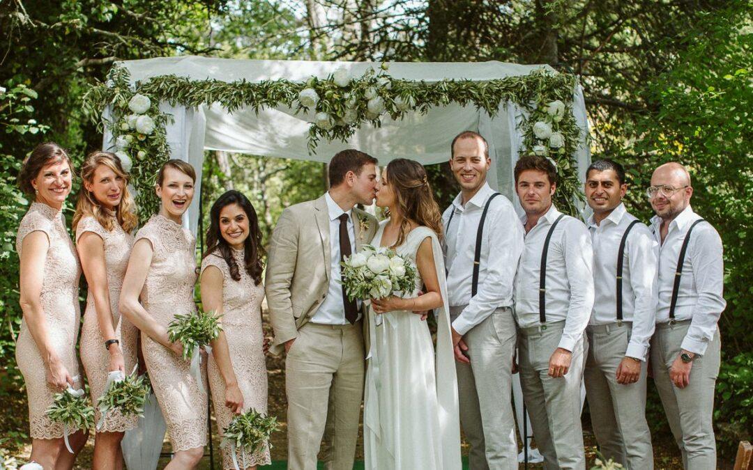 Majowy ślub plenerowy w Prowansji – Anne + Marc
